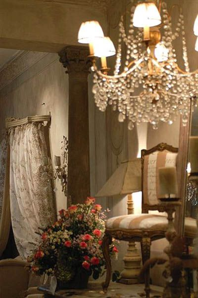 Chandelier   New 18th Century French Decorating Ideas, Rediscovering French  Style♥