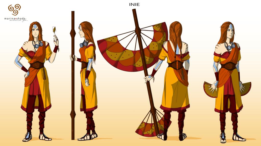 avatar character design inie -avatar character concept design-marina-shads