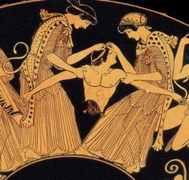 Gleeful Mobs Of Women Murdering Men In Western Art History Ancient Greek Art Greek Art Art History
