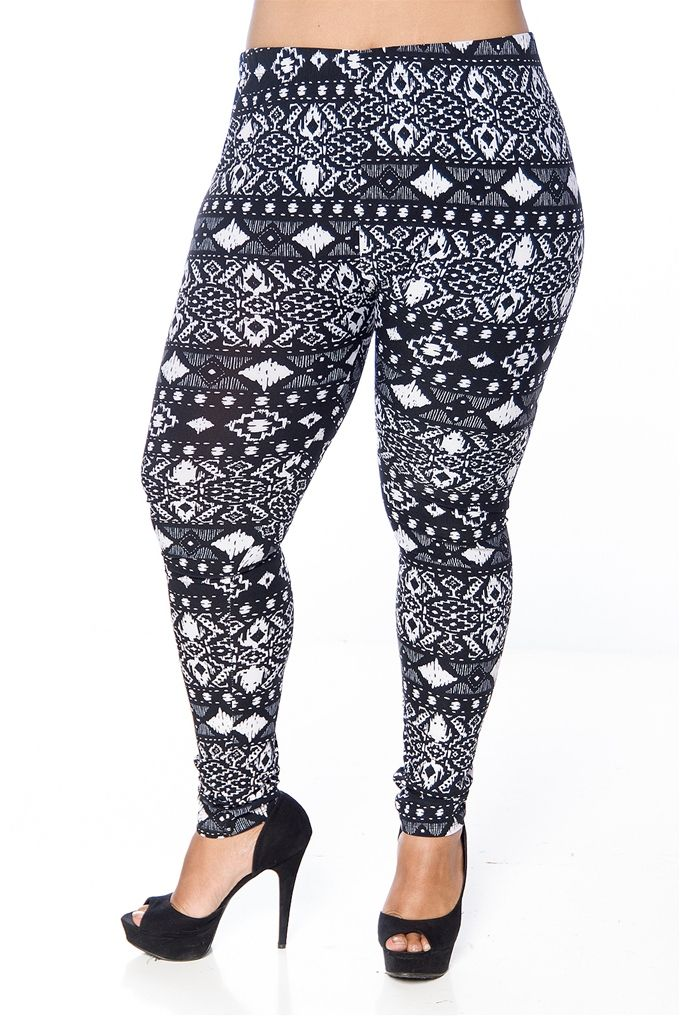 Plus Size Leggings Pattern