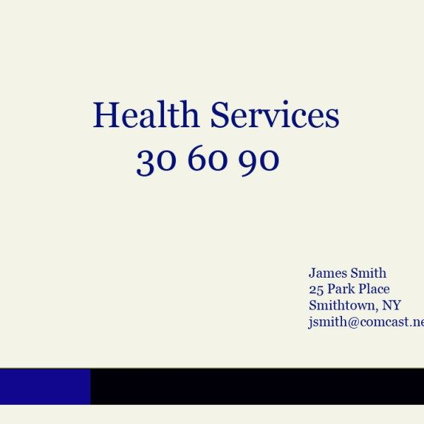 30 60 90 sales plan for the pharmaceutical or medical