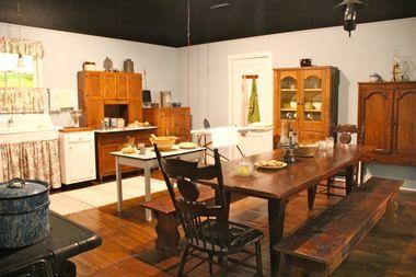 The Waltons Kitchen Tv Show Mountain Museum In Schuyler