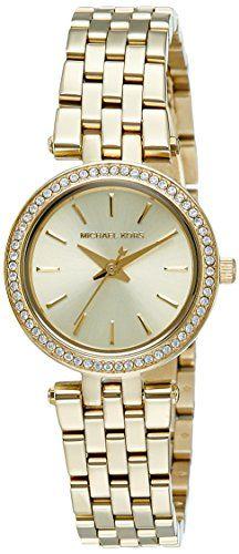 52189244fcea Michael Kors Women s Darci Gold-Tone Watch MK3295  Michael Kors Watch