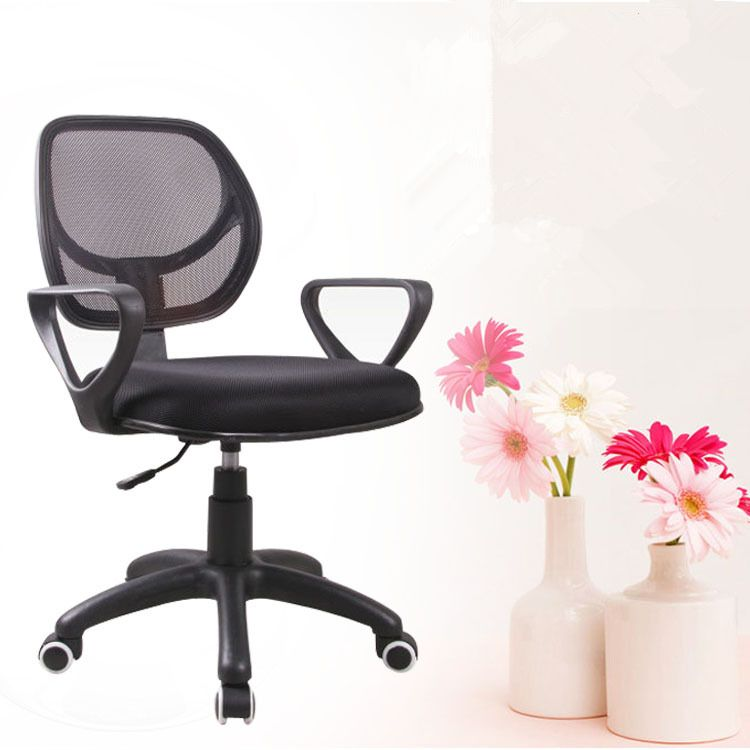 Multifunctional Office Chair Staff Meeting Chairs Lifting Seat Adjustable Computer  Chair Breathable Mesh Cloth Swivel Chair