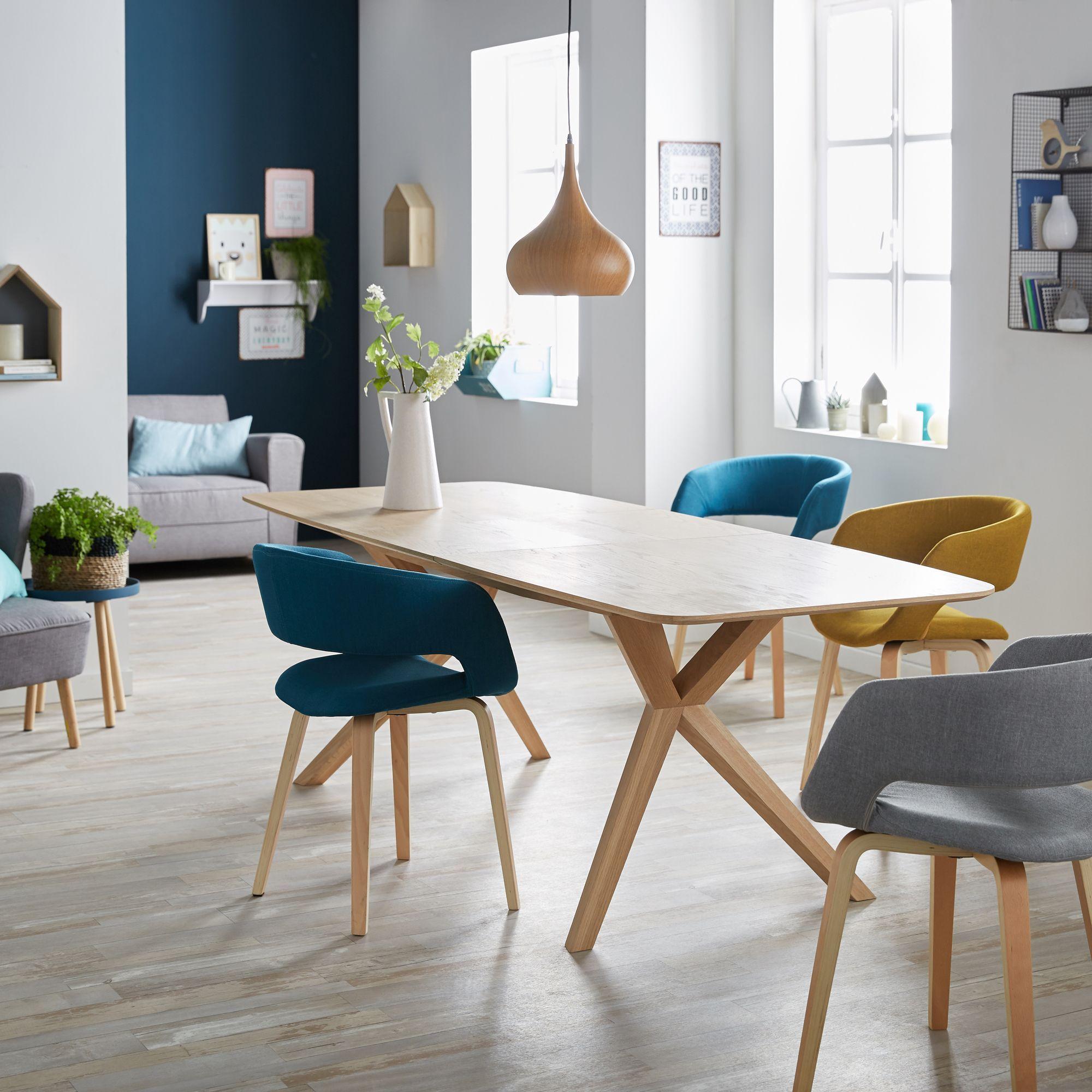 Alinéa Salle À Manger alinea : joyau chaise avec accoudoirs bleu - #alinea