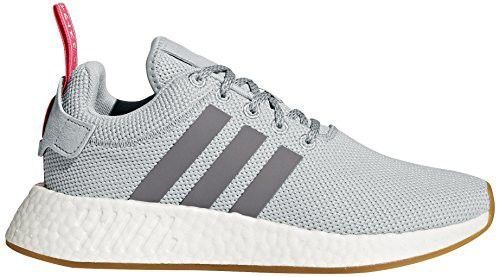 adidas Originals Womens NMD_R2 Trainers Grey Two/Grey Three/Shock Pink 0YOdvnWP