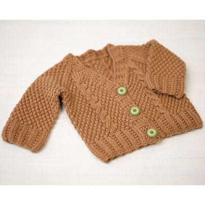 77c0c8722 776 Maple Baby Cardigan Kit
