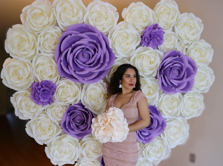 Rent Flower Wall Backdrop In Tampa Bay Fl Heart Flower Wall Etsy Flower Wall Wedding Photo Booth Backdrop Wedding Flower Wall Backdrop