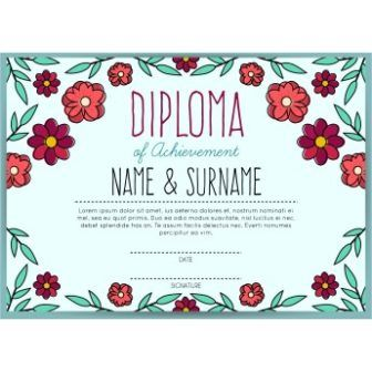 free vector Diploma certificate Of Achievement templates httpwww