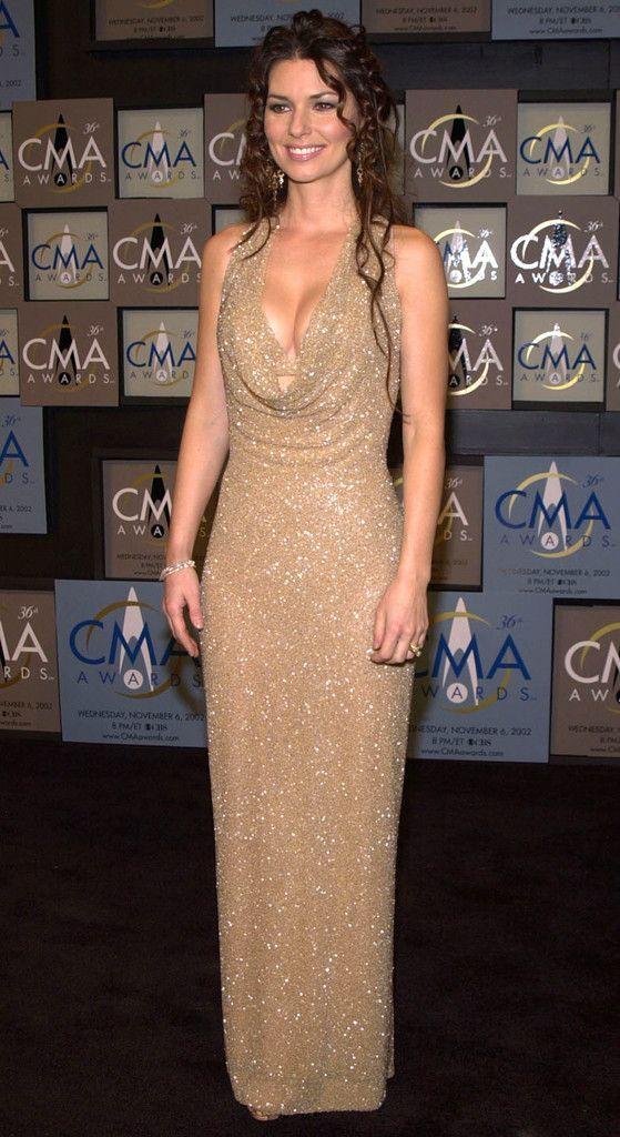 Shania Twain Accepts Her Awards At The Cmas Wearing Marc -6539