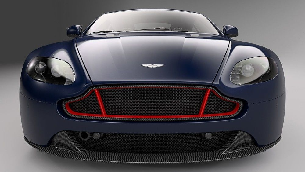 They don't have wings. But the Aston Martin V8 and V12 Vantage Red