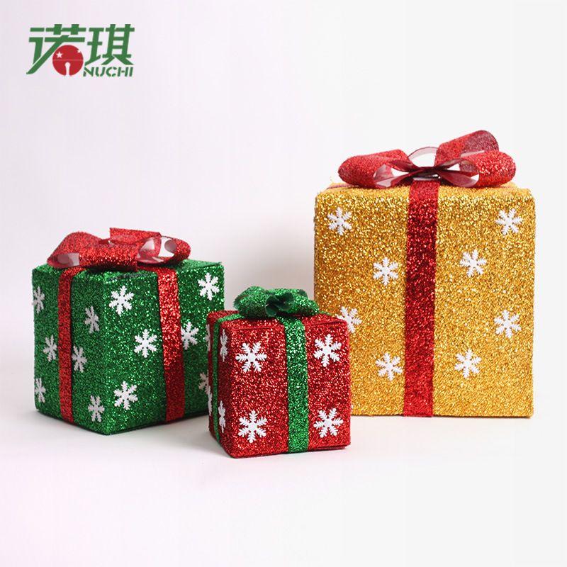 Cheap decorativos de regalo cajas de pl stico bellamente - Cajas de carton de navidad ...