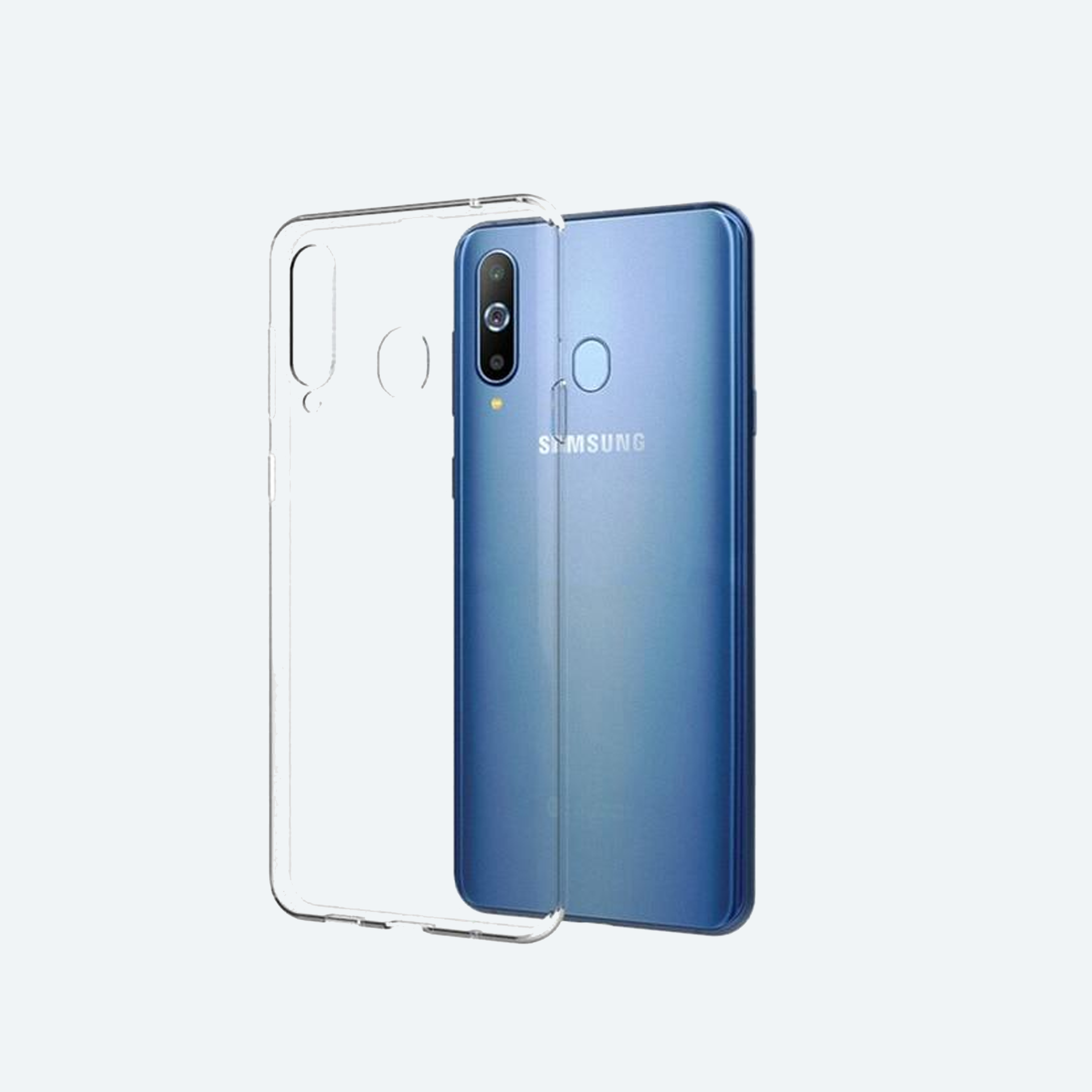 Samsung Galaxy A20s Transparent Back Cover In 2021 Samsung Galaxy Galaxy Samsung