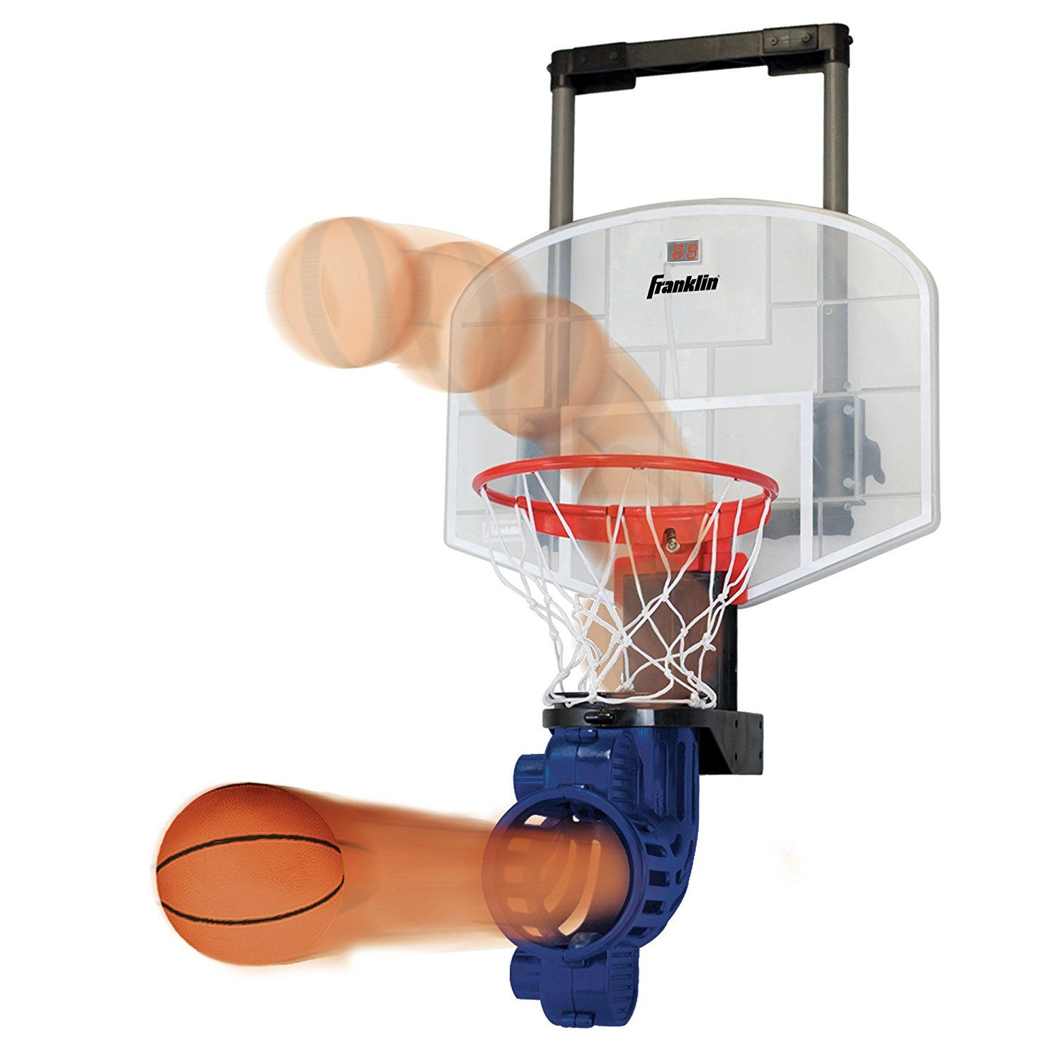 Amazon.com : Franklin Sports Shoot Again Basketball : Toy Basketball Products : Sports & Outdoors