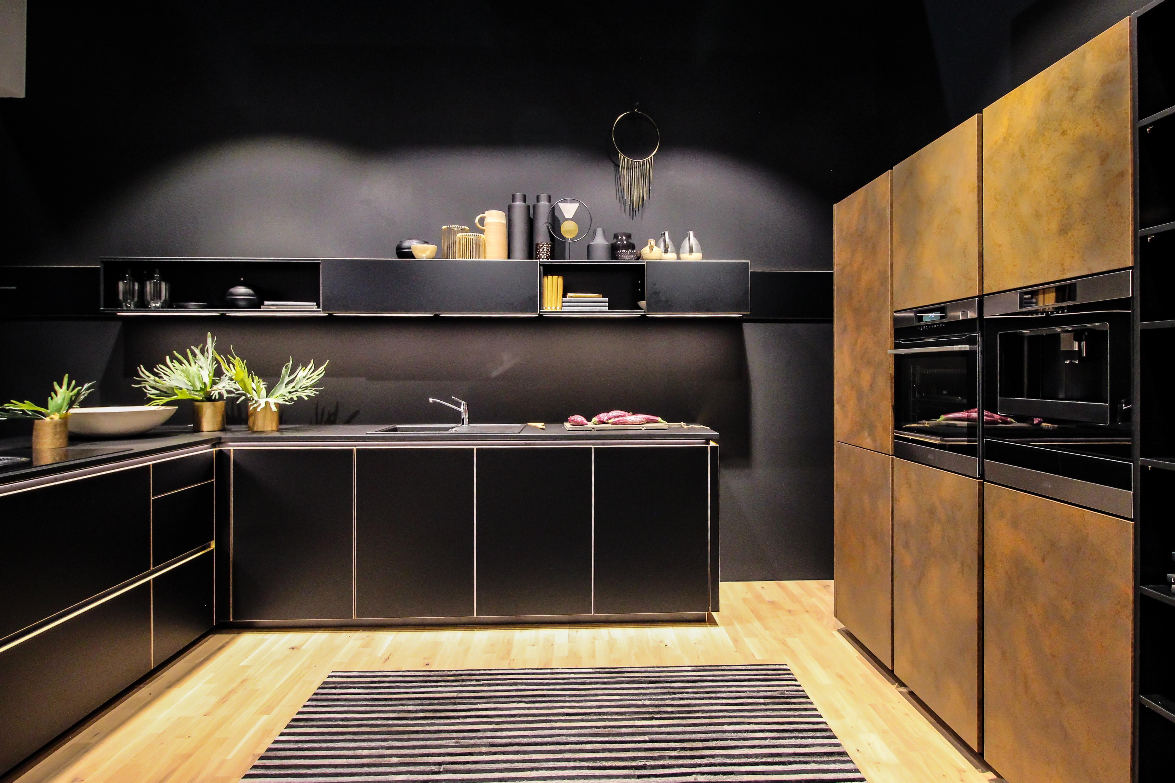 Black kitchen inspiration from Milan Design Week 2019