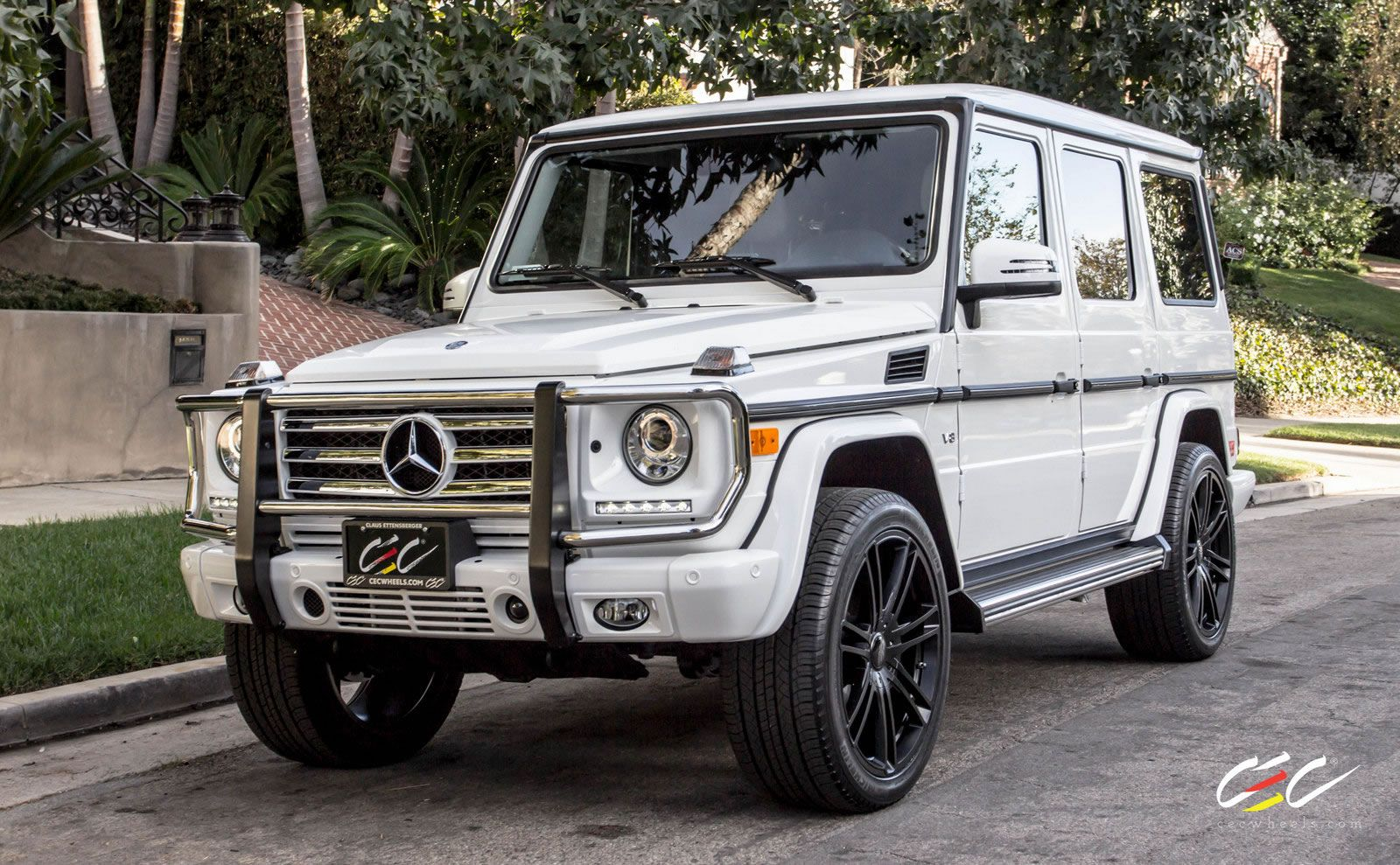 Mercedes Benz G550 With C883 Suv In Custom Matte Black Finish Cars