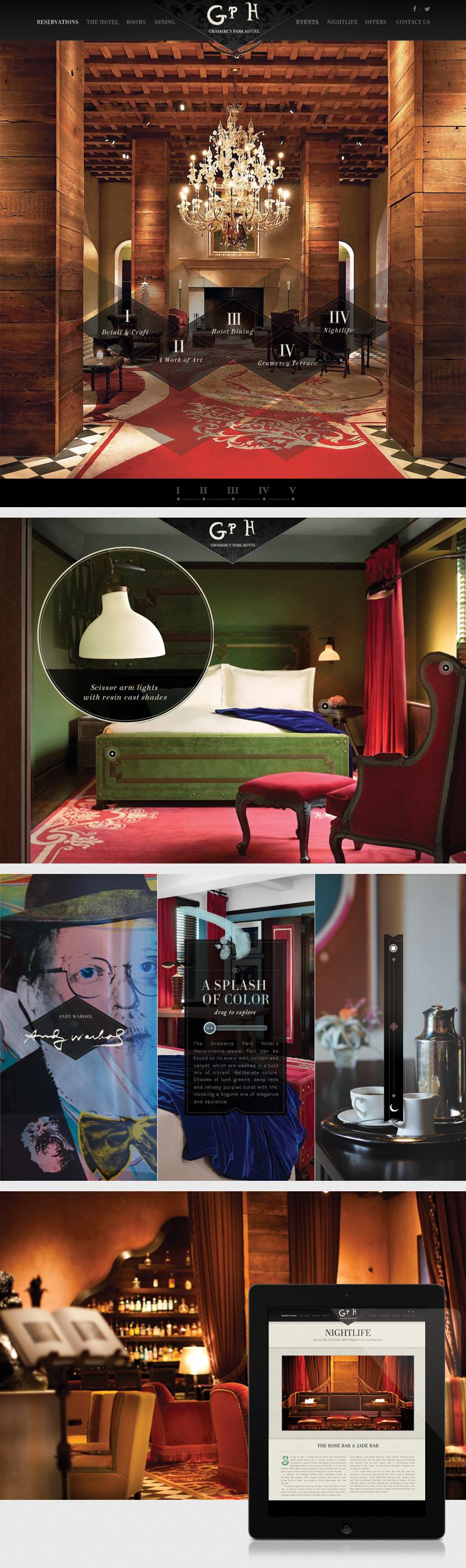 Gramercy Park Hotel by Canvas (via Creattica)