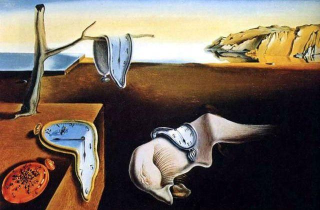 La persistencia de la memoria, conocido también como Los relojes blandos, pintado por Dalí en 1931 es una de las obras expuestas en el Reina Sofía.