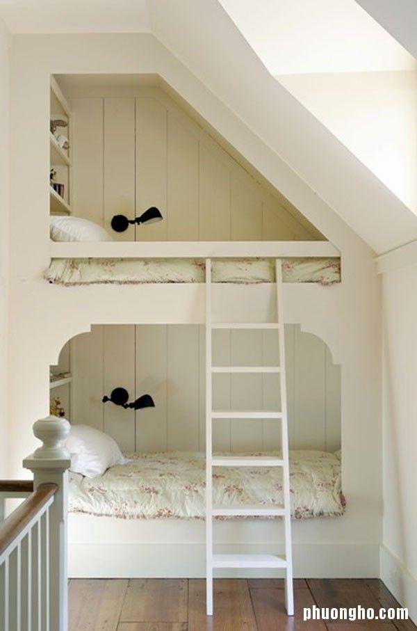 Thiết kế không gian ngủ tiện lợi cho nhà nhỏ hẹp
