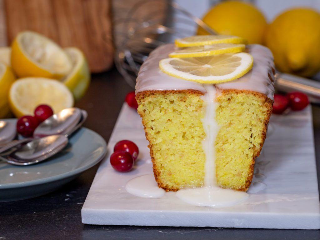 Cake Au Citron Vegan Recette Idee Gateau Yaourt A La Noix De