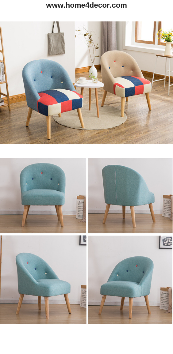 Colourful Fabric Armchairs Arm Chairs Living Room Couches Living Room Comfy Funky Sofa