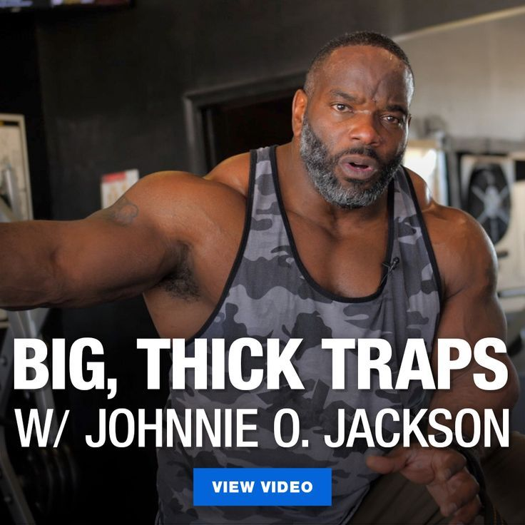 Team GASP athlete, Johnnie O Jackson, talks trap training and demonstrates two of his favorite trap exercises he's used to build some of the biggest traps in bodybuilding. Give them a shot for yourself during your own workouts! #Traps #Shoulders #Back #Workout #JohnnieOJackson
