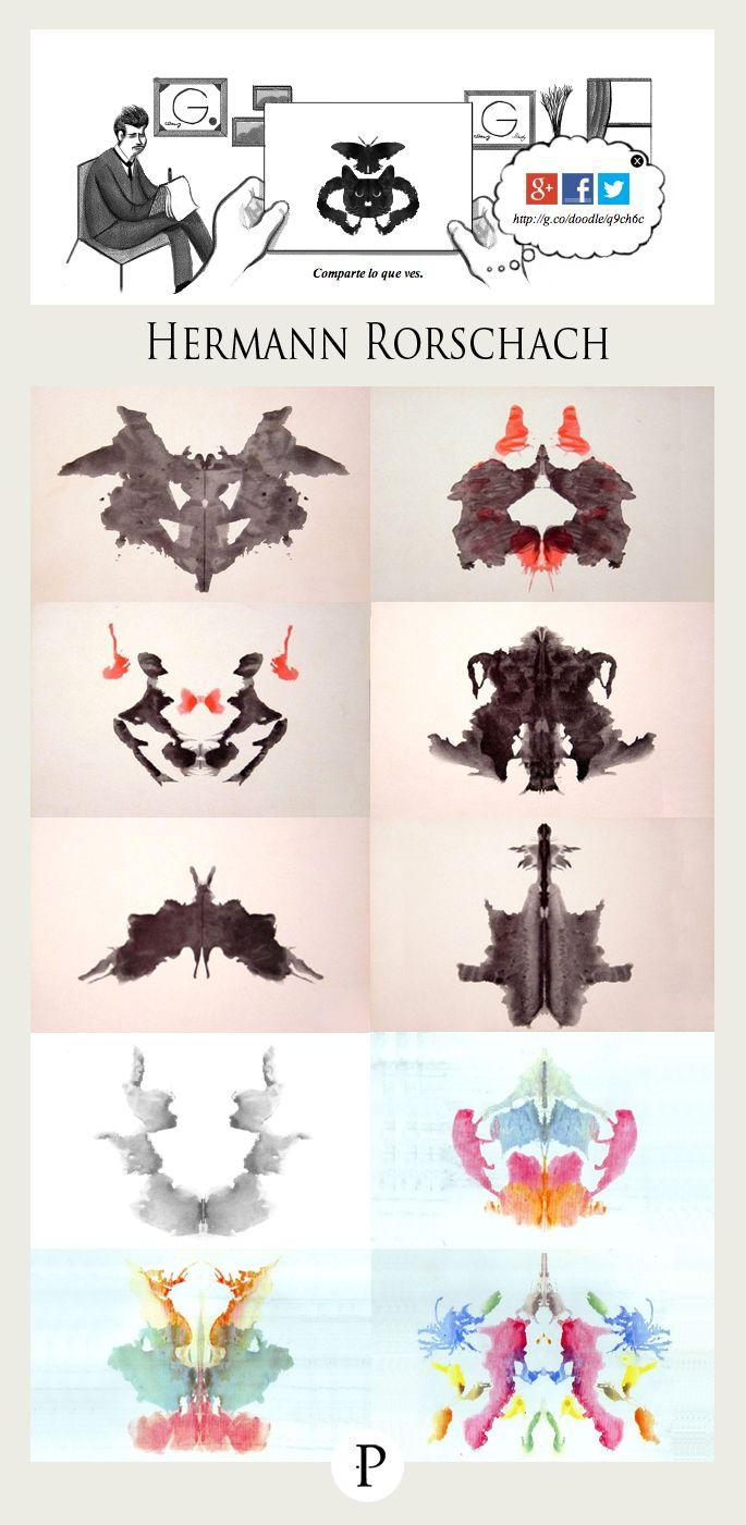Hermann rorschach rorschach test design rorschach art rorschach test y art psychology - Tavole di rorschach interpretazione ...