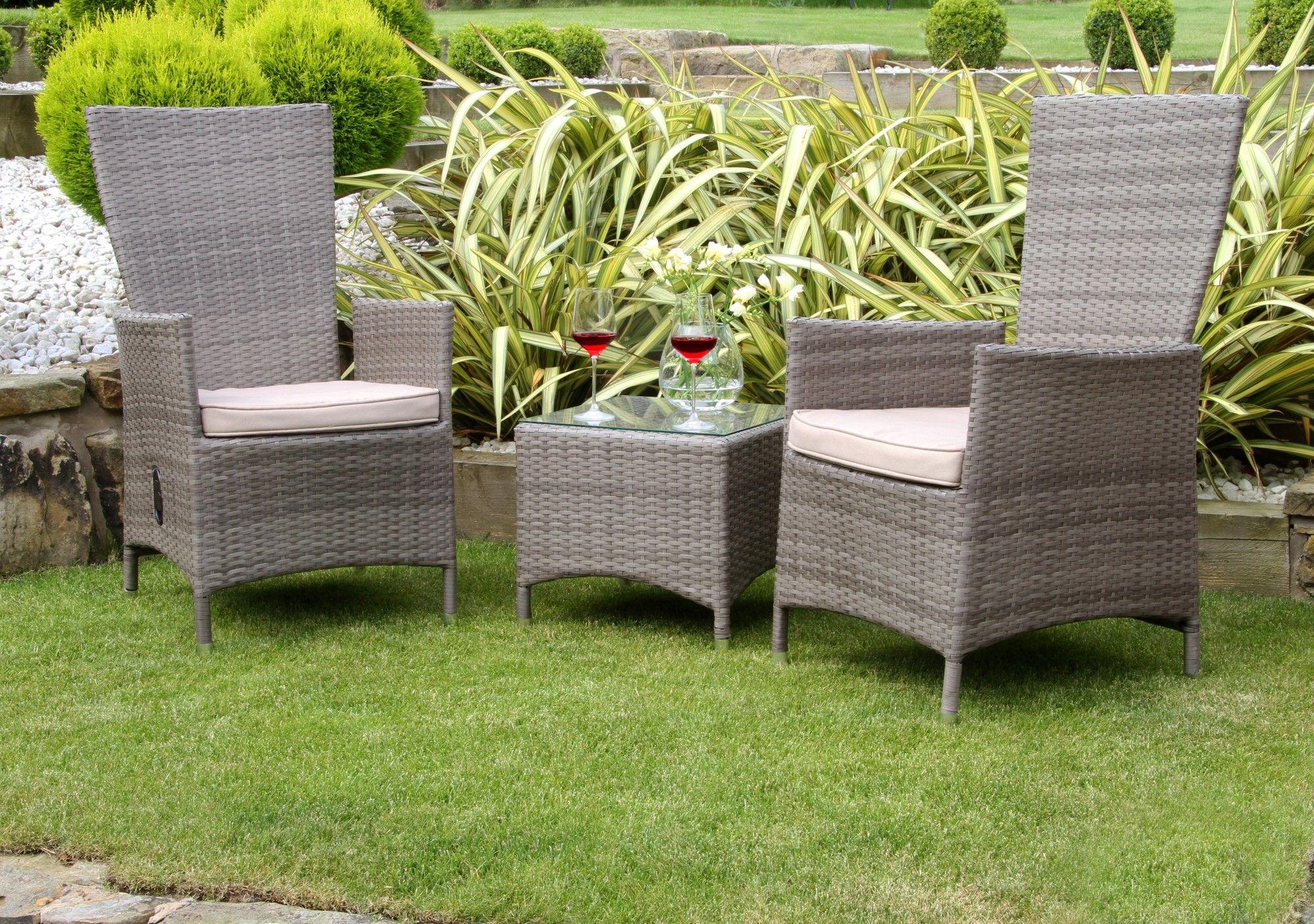Auckland 9 Seater Bistro Set with Cushions  Wayfair UK  Garden