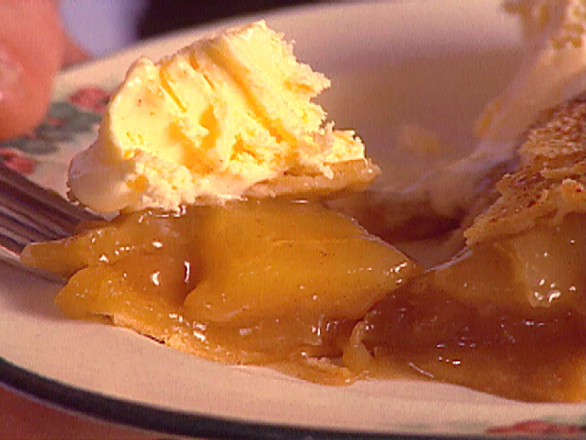 Traditional Apple Pie recipe from Tyler's Ultimate via Food Network