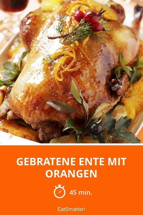 Gebratene Ente mit Orangen #recipeshamburgermeat