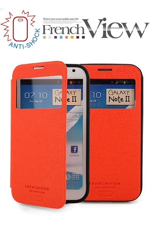 FRENCH VIEW FLIP COVER CASE 10 colors for SAMSUNG