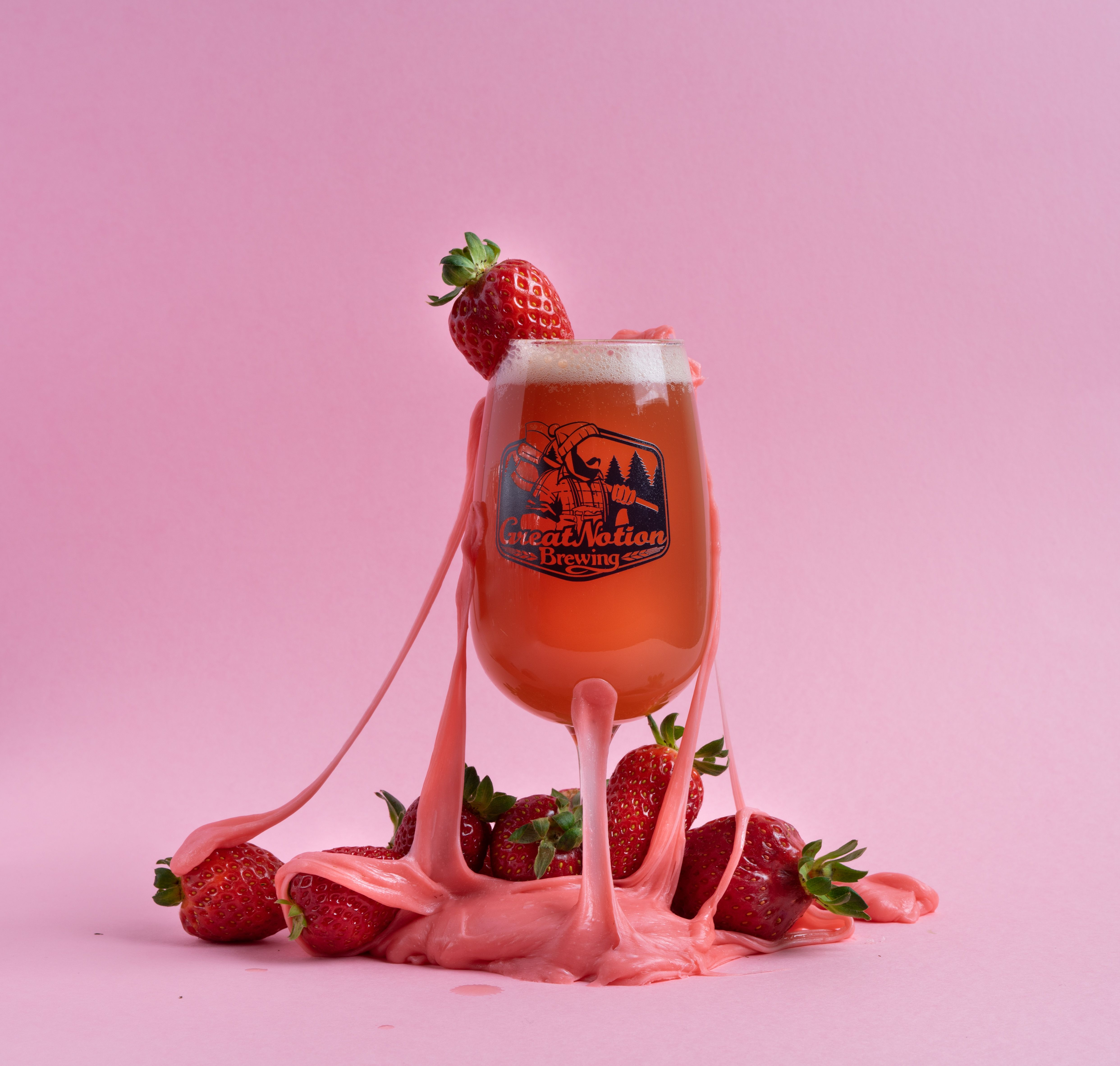 Strawberry Taffy Is A Collaboration Brew With Our Friends From Cape May Brewing In Nj We A Craft Beer Food Pairing Craft Beer Recipes Madagascar Vanilla Beans