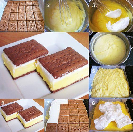Www Sanella De Rezepte: Butterkekskuchen Ganz Ohne Backen ;) Rezepte Und Kochideen