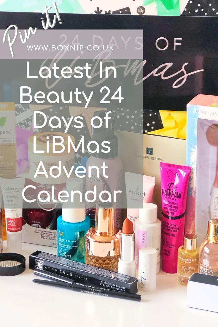 The LiBMas '24 Days of Christmas' Advent Calendar Beauty
