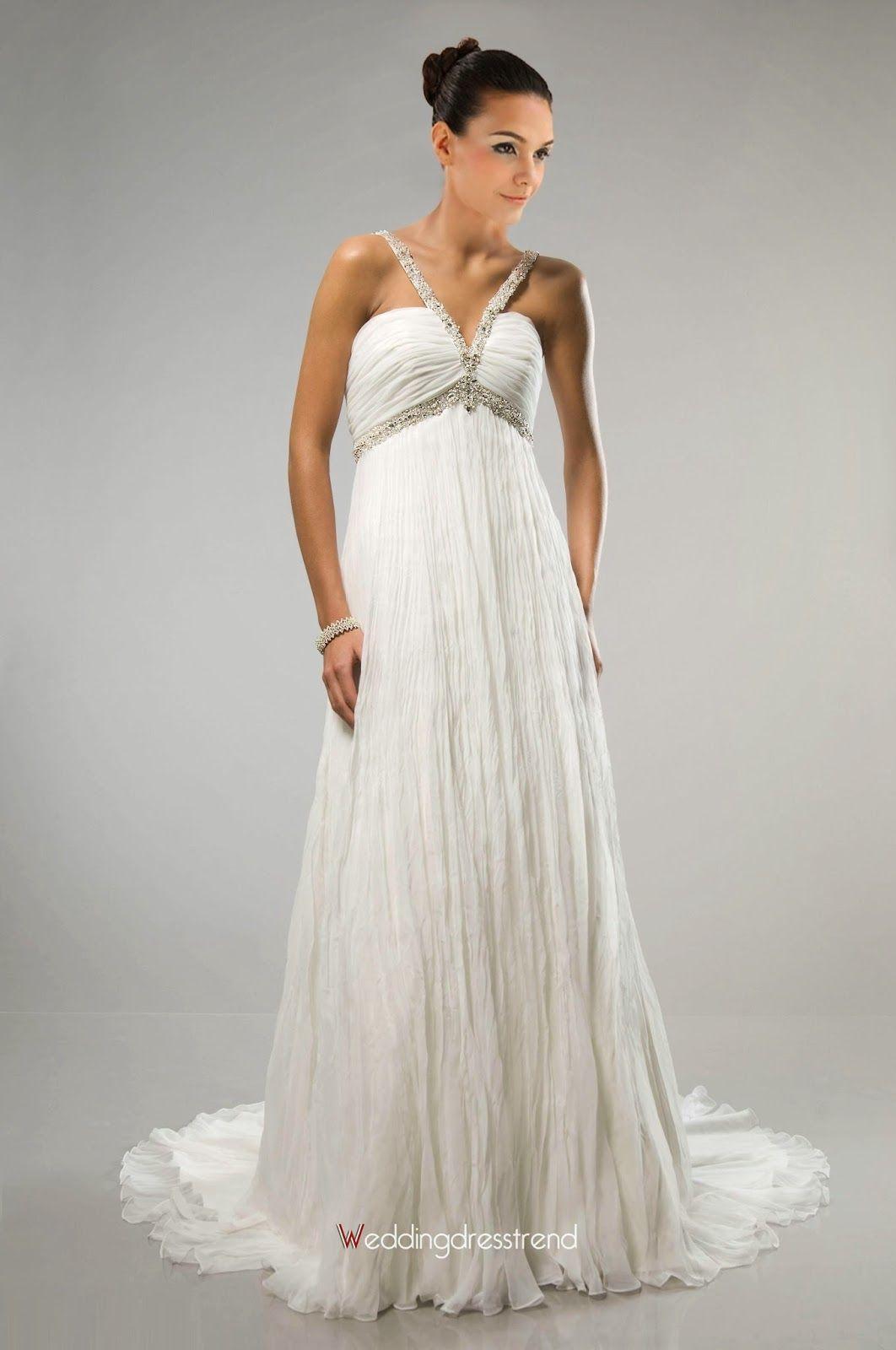 Lindos Vestidos de novia para embarazadas | Tendencias | Cosas que ...