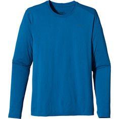 Click Image Above To Buy: Patagonia Long Sleeved Gamut Shirt (men's) - Bandana Blue