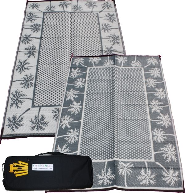 Carefree Mats - Paradise - RV Awning Patio Mat with Free ...