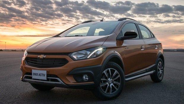 Chevrolet Onix Activ Chega As Lojas Neste Mes Por A Partir De R 57 190 Carro Mais Vendido Carros Marcas De Carro