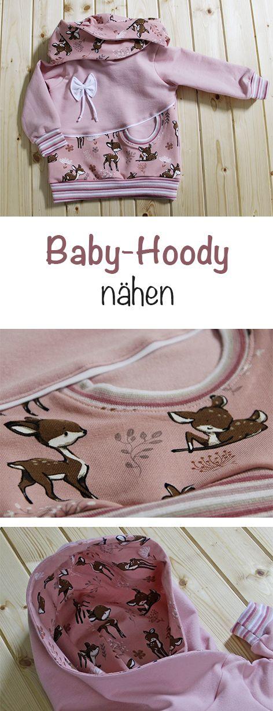 Baby-Hoody Little Bambi #strickanleitungbaby