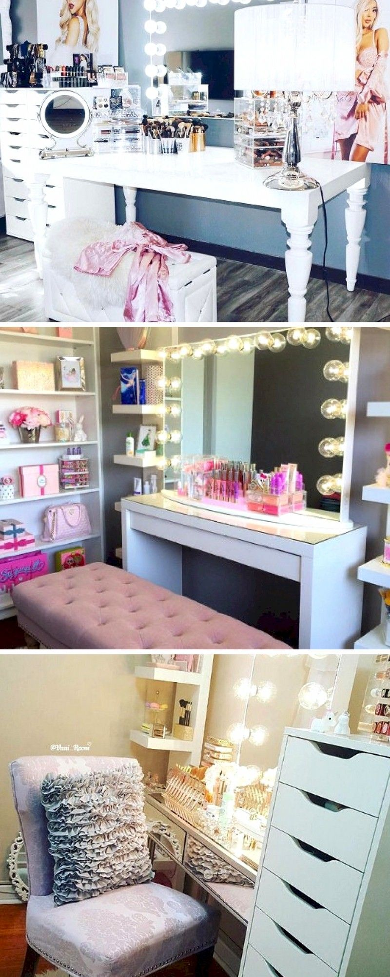 My dream beauty room planner for and makeup collection ikea