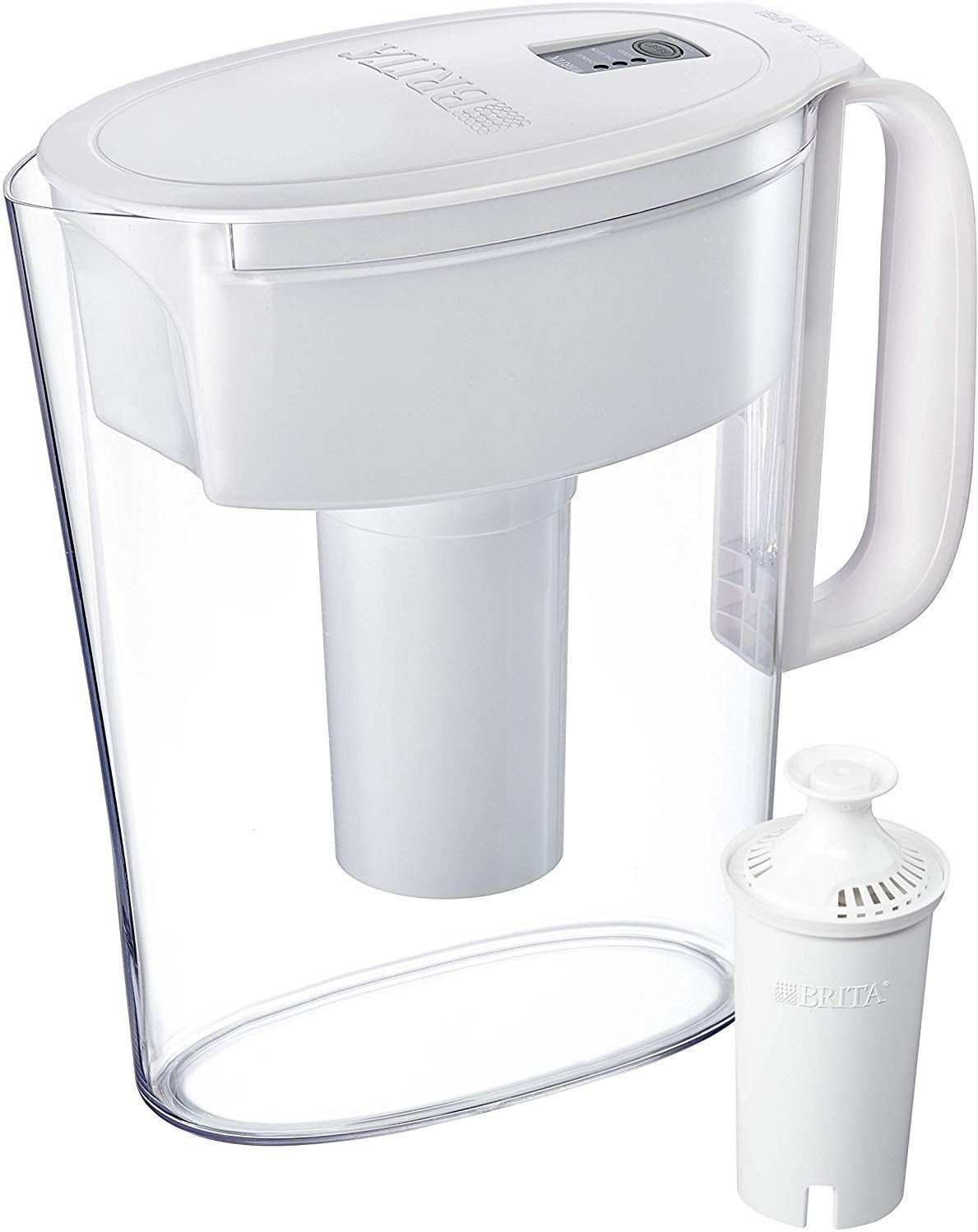 Amazon brita small 5 cup water filter pitcher with 1