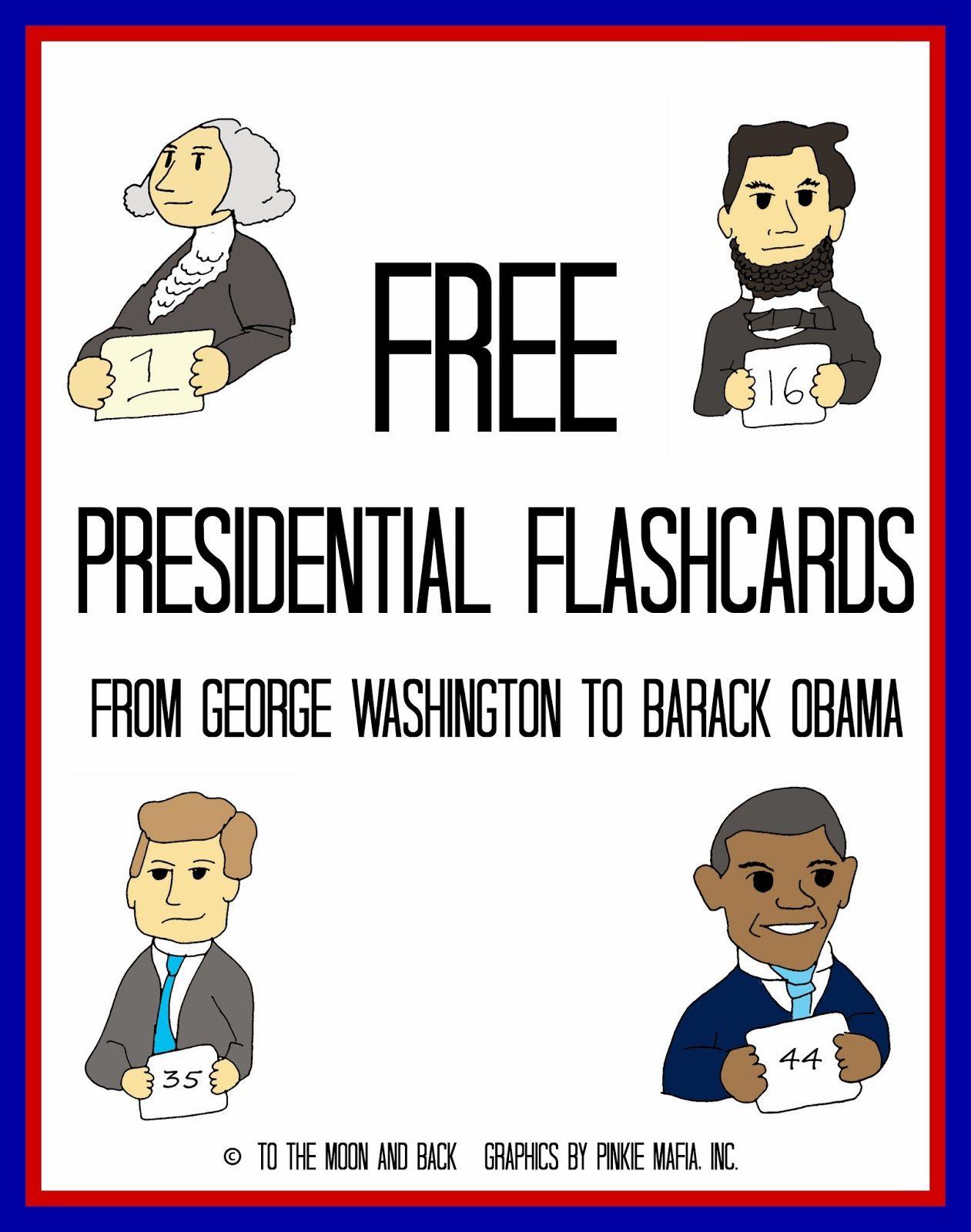 A Presidential Affair Free Printables