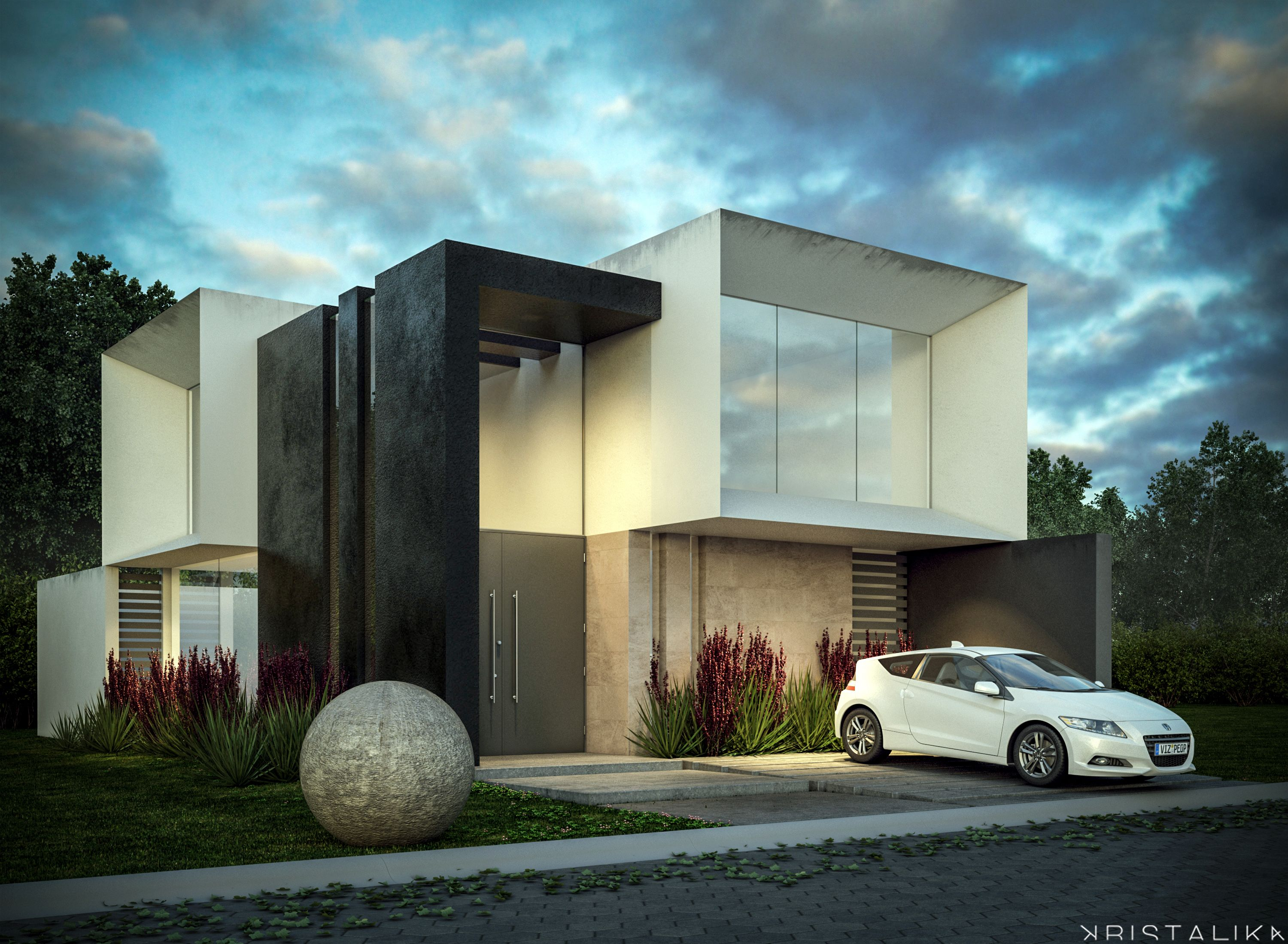 Just love this, totally my style when it comes to modern | Bunglows ...