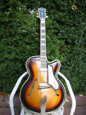 Carved archtop