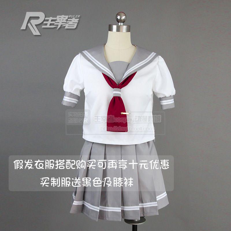 >> Click to Buy << LoveLive!Sunshine!!Aqours Dia Kurosawa Kanan Matsuura Ruby Kurosawa Cosplay Costume Sailor Uniform Shirt+Skirt+Tie+Socks #Affiliate