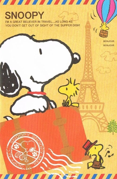 Snoopy great traveller