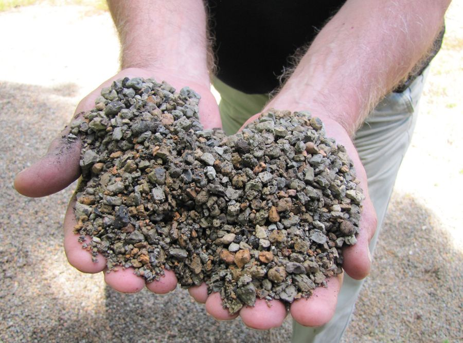 Flower Beds Need Special Soil Preparation at Landscape