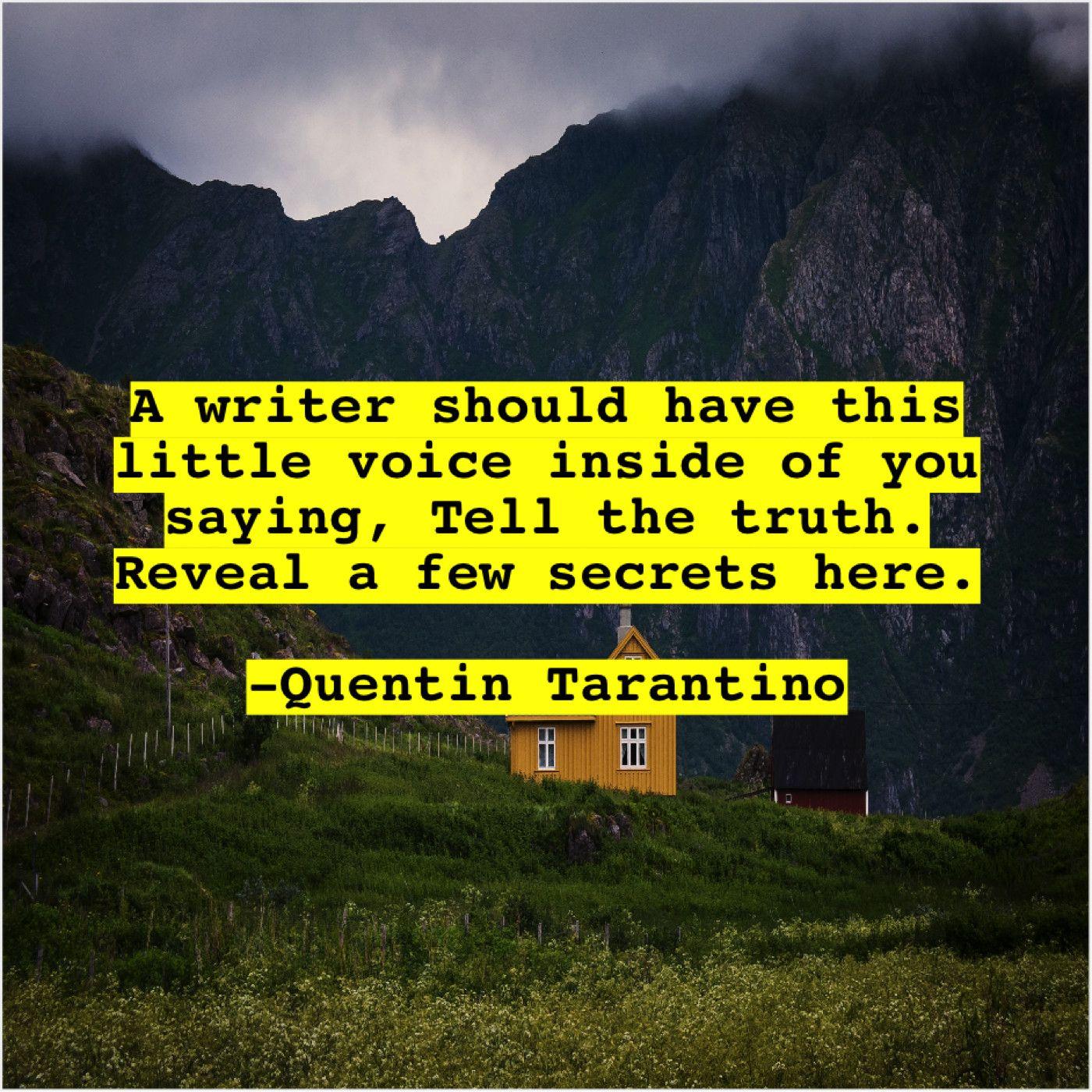 Quentin Tarantino A Writer Should Have This Demetri Martin Annie Leibovitz Jason Mraz
