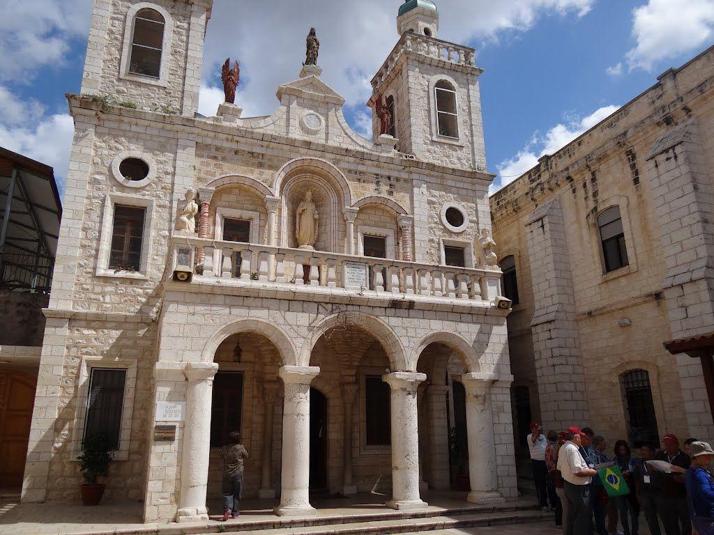 cana israel   Panoramio - Photo of Igreja de Caná da Galiléia