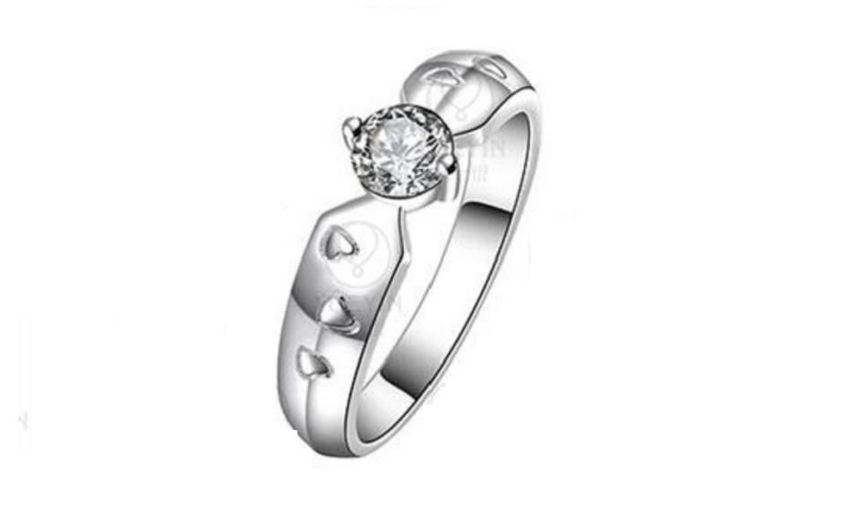 Crystal Fashion Finger Ring For Woman Crystal Fashion Rings Ring Settings Types